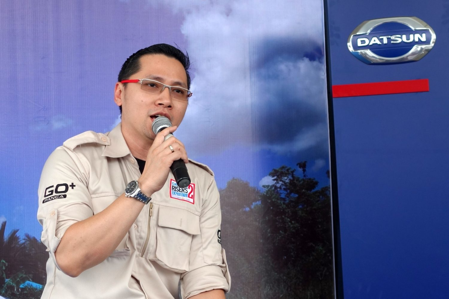 Head of Marketing Datsun Indonesia - Christian Gandawinata