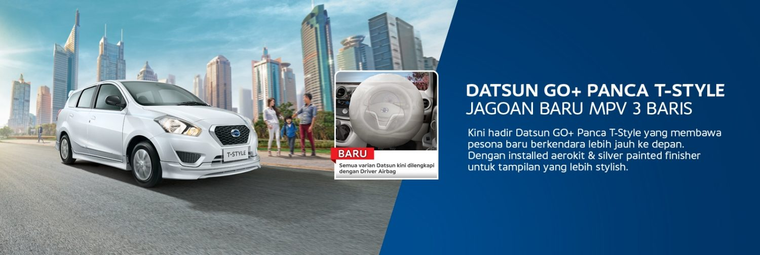 Datsun GO+ Panca T-style with Airbag
