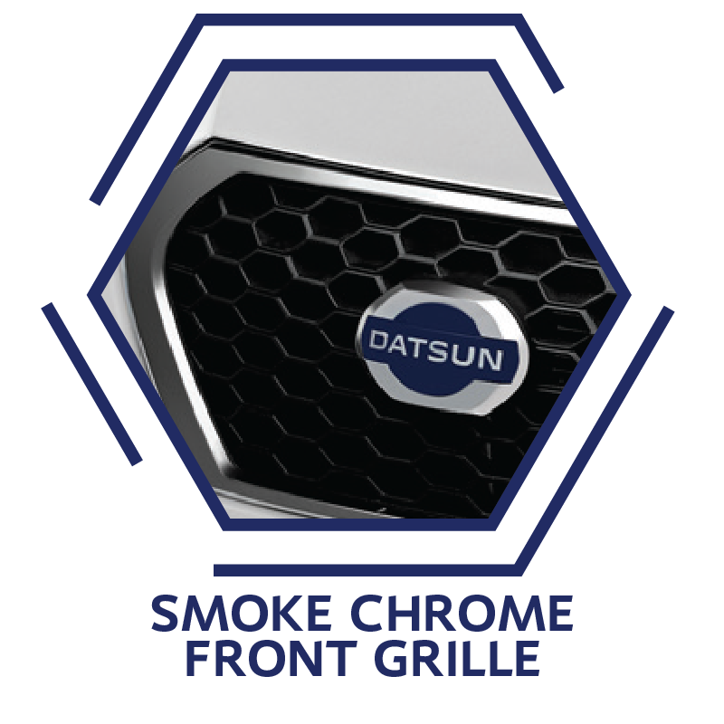 Smoke Chrome Front Grille