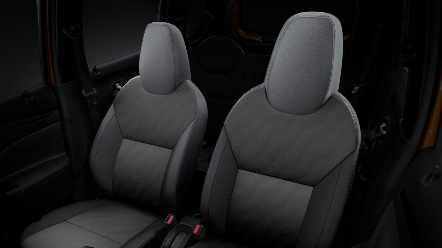 Datsun Cross interior front seat design
