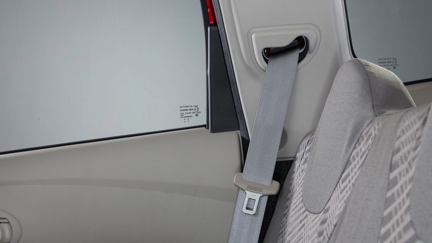 2nd Row Retractable Seatbelt