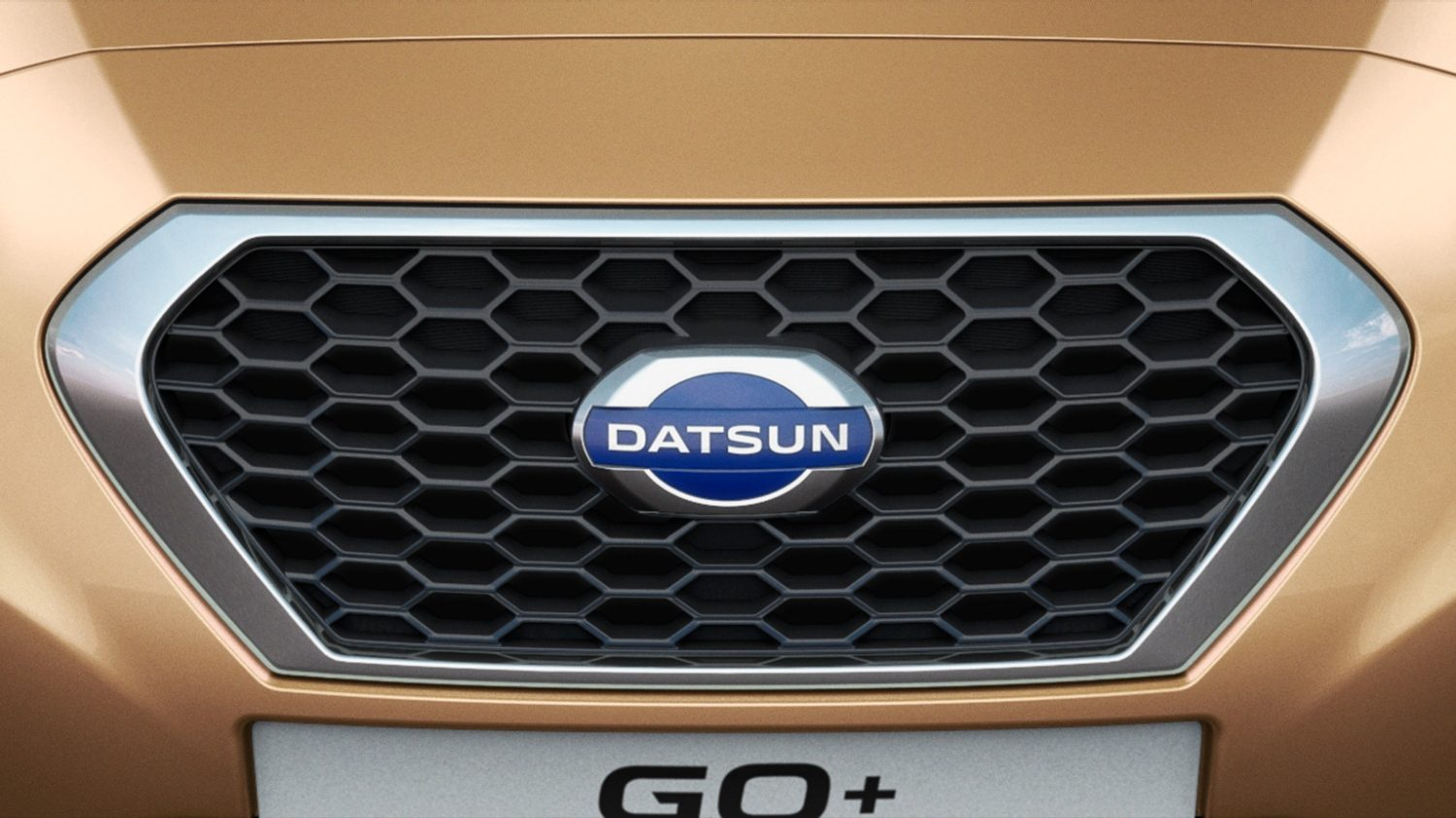 close up front grill