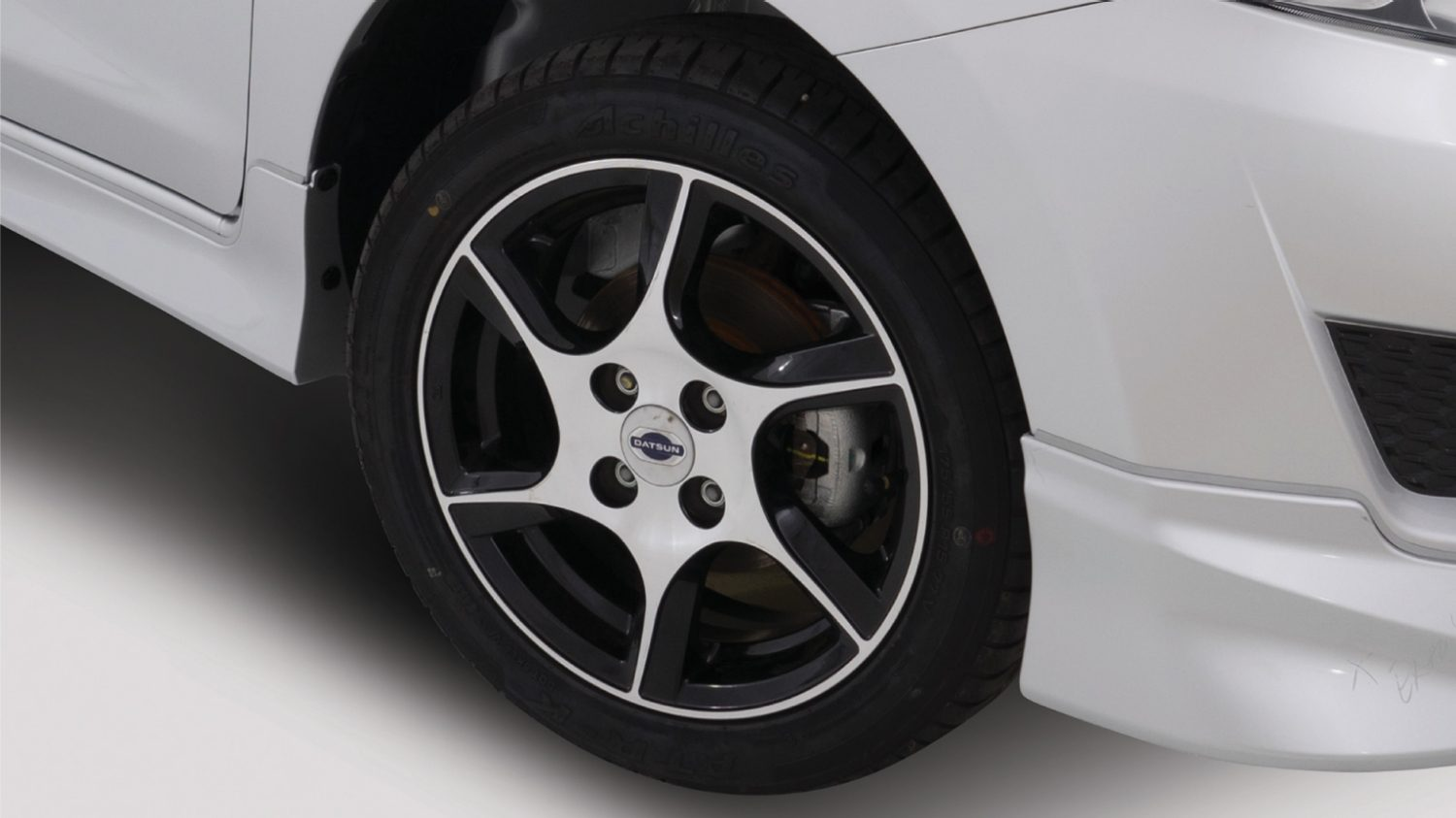 Alloy wheels Black Polish