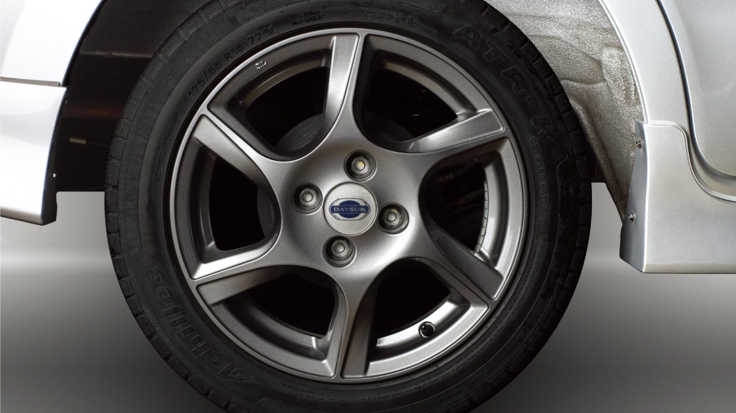 Grey Alloy Wheels 15""