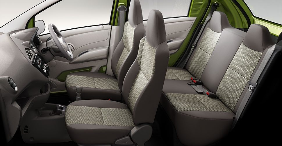 SPACIOUS OVERALL INTERIOR