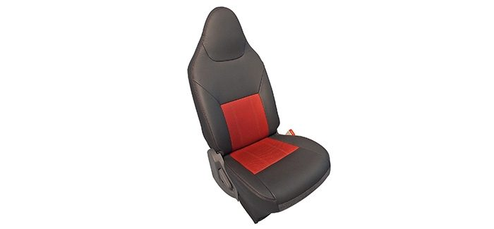Datsun GO leather seat conversion