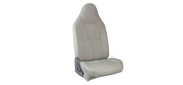Seat Cover Leather + Art Leather Full Beige