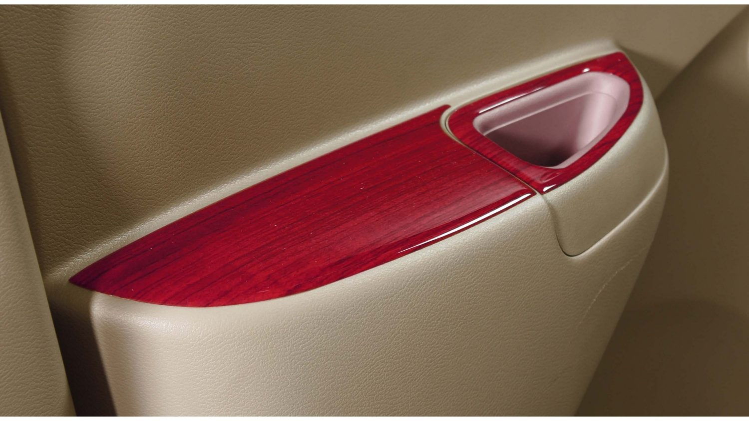 Interior finisher(power window) - Rosewood