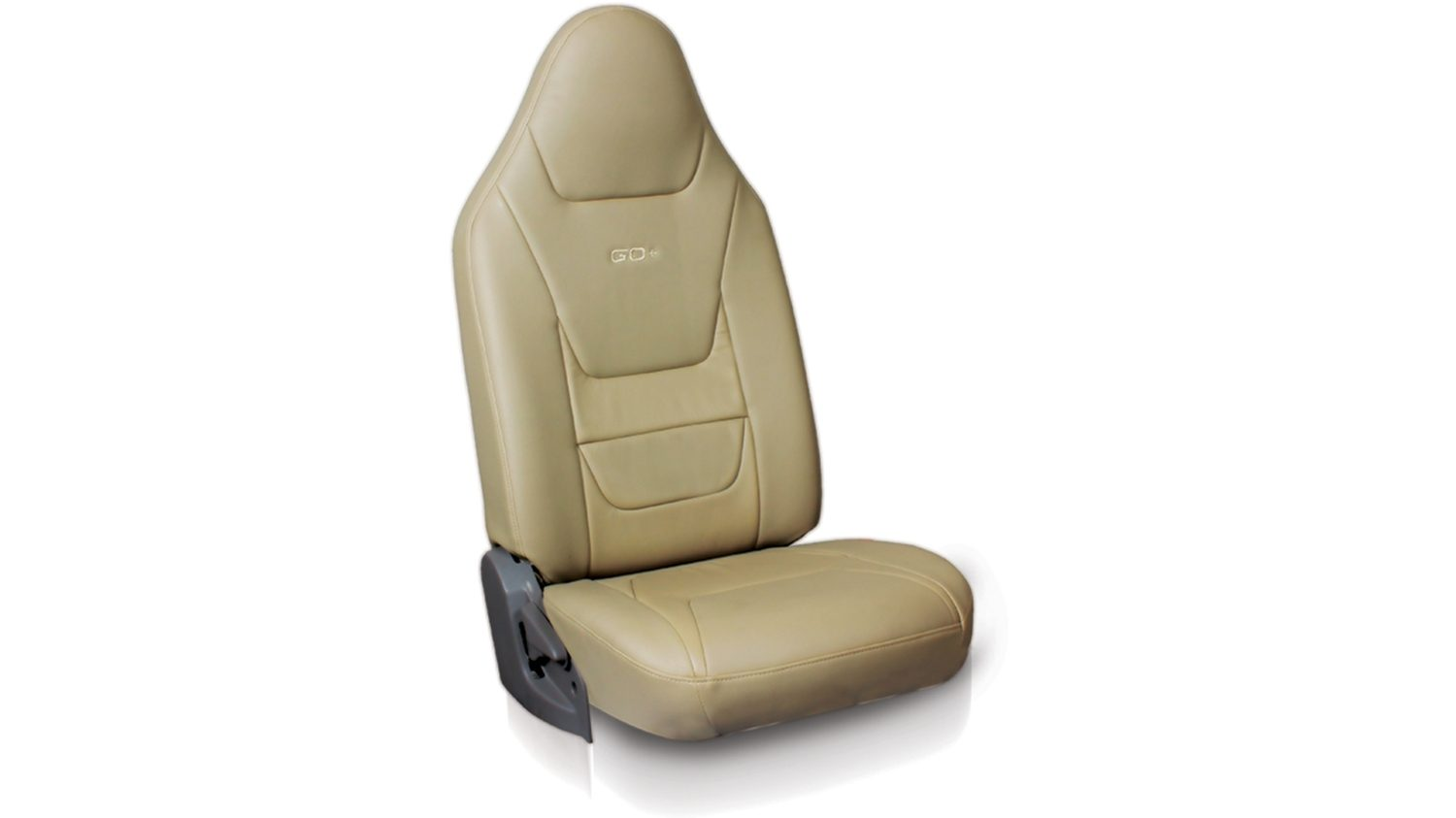 Seat cover Art leather+Leather -complete beige