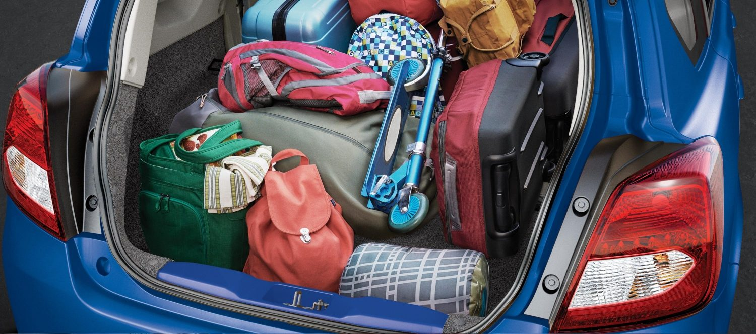 Luggage space in Datsun GO+