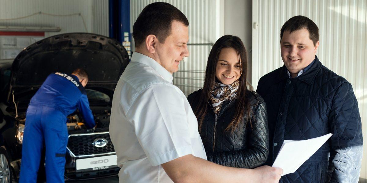 Техническое обслуживание всервисе Datsun