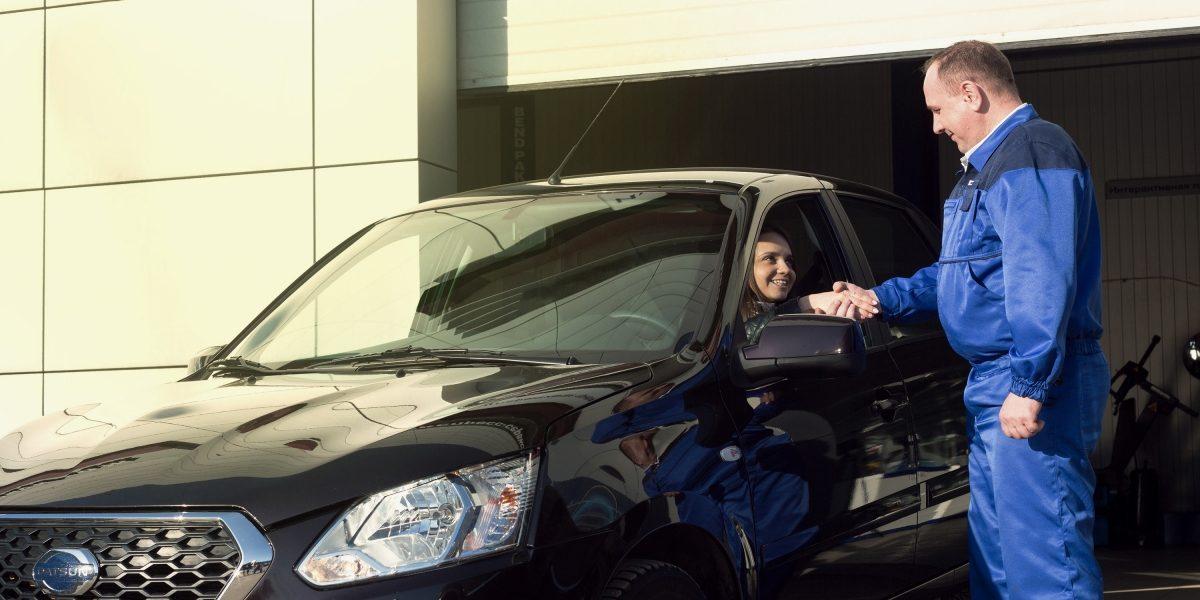 Водитель испециалист сервиса Datsun