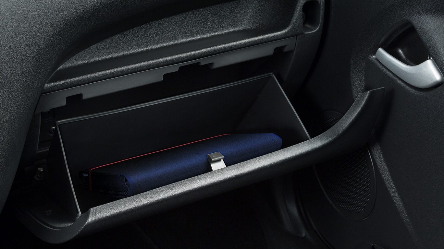Glove Compartment with Product