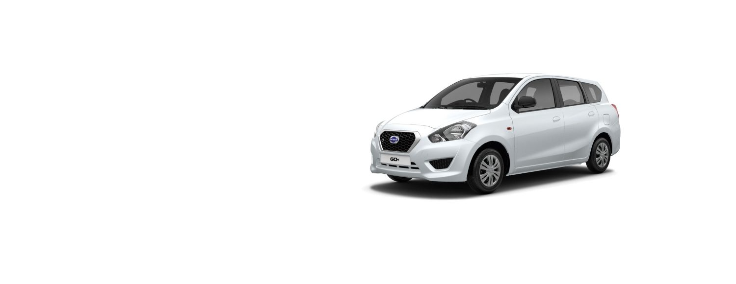 Datsun GO+ in white