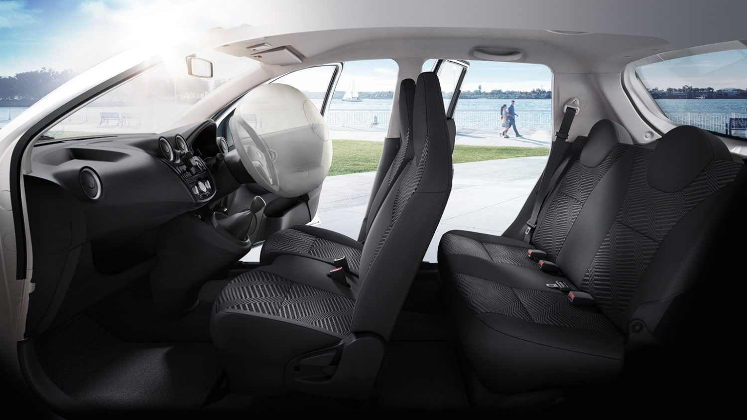 Datsun Go: Drivers Airbag
