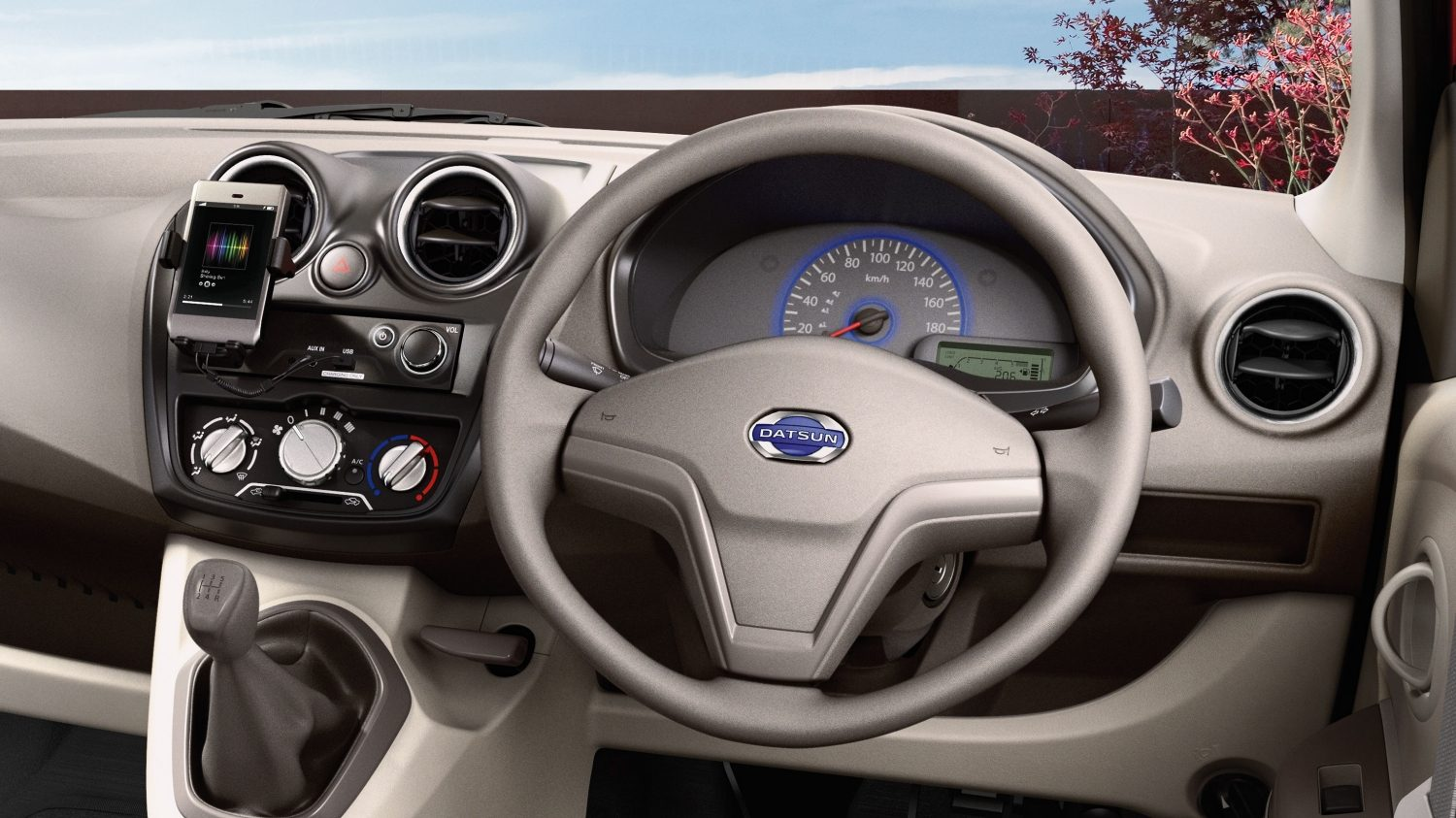 Datsun GO+ Steering Wheel