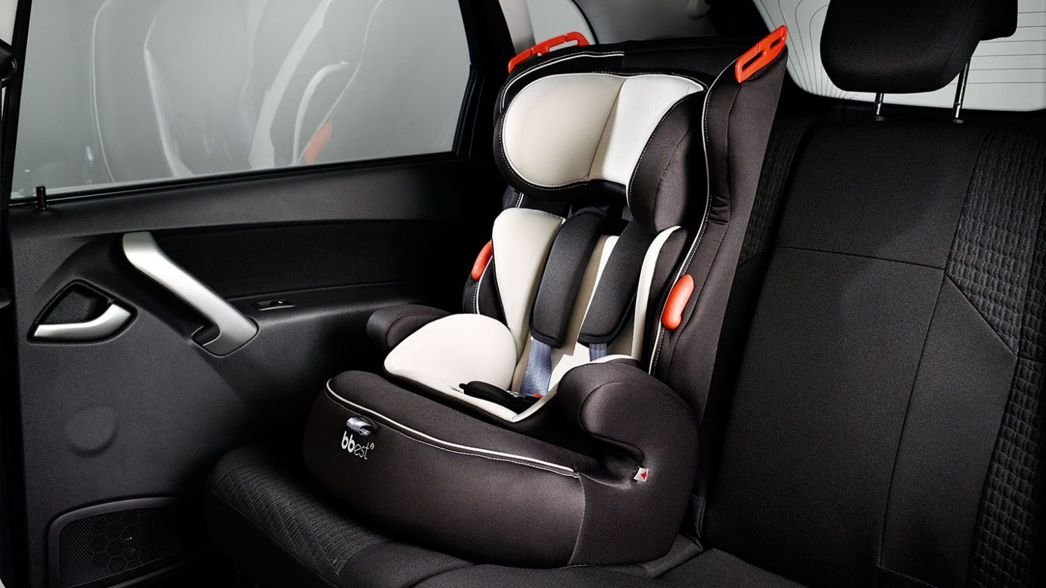 Child Seat Mounted on Seat